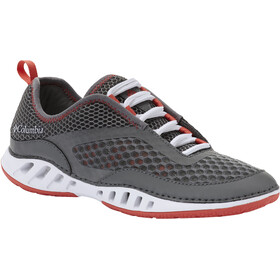 Columbia Drainmaker 3D Schoenen Dames, ti grey steel/red coral